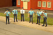 Bachmann 33104 HO Police Squad - 6 Figures