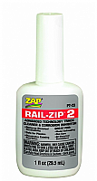 Pacer PT23 ZAP Rail-Zip 2 Advanced Technology Track Cleaner and Corrosion Inhibitor (1fl oz, 29.5mL)