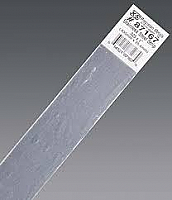 K&S Engineering 87167 All Scale - 0.023 inch Thick Stainless Steel Flat Strip - 1 inch x 12inch