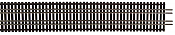 Walthers Track 83004 - HO Code 83 Nickel Silver Bridge Track Set - 36in (0.9m) Long
