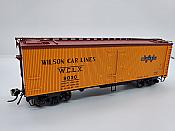 Rapido Trains 121062-4 - HO 37ft General American Meat Reefer - Wilson Road #9452