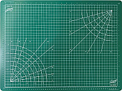 Excel Hobby Blades 60004 - Self Healing Cutting Mat - Green - 18In x 24In