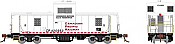 Rapido 110133 HO - CP Angus Van: Canadian Pacific (Engineering White) #420982