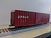 Athearn Ready to Roll 72633 60 ft FMC High Cube Ex-Post box Car CP Rail No4214