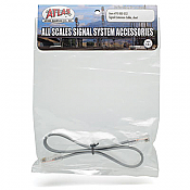 "Atlas Model Railroad Co. 70000052 Signal Extension Cable - All Scales Signal System Short - 12"" 30.5cm 150-70000052"