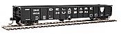 Walthers 6212 HO Scale - 53Ft Railgon Gondola - Ready To Run - Delaware & Hudson #15016
