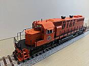 Athearn 88627 HO SD38 w/DCC & Sound,  Detroit, Toledo & Ironton Railroad DT&I #252