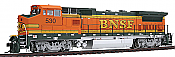 Atlas 10 001 834 HO Dash 8-40BW Locomotive w/DCC and LokSound Master Gold Burlington Northern & Santa Fe #526