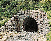 Woodland Scenics 1164 - N Scale Unpainted Hydrocal Castings - Random Stone Culverts (2 pkg)