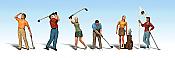 Woodland Scenics 1907 - HO Golfers (6/pkg)