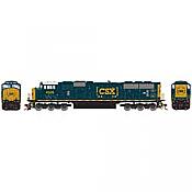 Athearn Genesis G64919 HO Scale - SD70MAC Diesel, w/ DCC & Sound, CSX #4526