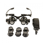 Enkay 2964 - LED Lighted - Multi Powered Magnifying Eyewear