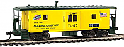 Walthers Mainline 8665 - HO International Bay Window Caboose - Chicago & North Western #11207