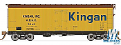 Rapido Trains 121056-2 37ft General American Meat Reefer Kingan (Large Logo) No.3080