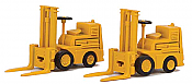 Walthers 4164 HO SceneMaster Forklift 2-Pack - Assembled - Yellow