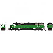 Athearn Genesis G75602 HO - SD60M Diesel Tri-Clops - DCC/Sound - BN #9222