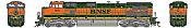 Athearn G31611 HO Scale - G2 Dash 9-44CW Diesel, DCC & Sound - BNSF Railway H1 #1011