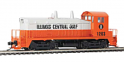 Walthers Mainline 20658 - HO EMD SW7 - DCC & Sound - Illinois Central Gulf #1204