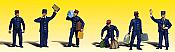Woodland Scenics 2131 - N Scenic Accent Figures - Train Personnel (6/pkg)