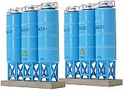 TomyTec 257516 - N Scale Trip Upright Bulk Tanks (2)