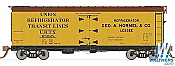 Rapido Trains 121055-1 37ft General American Meat Reefer Hormel No.68029