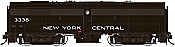 Rapido 22545 HO - DC/DCC/Sound - Alco FB-2 New York Central (Cigar Band) #3350 - Pre-order