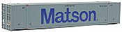 Walthers 8516 HO SceneMaster 53' Singamas Corrugated-Side Container - Ready to Run - Matson