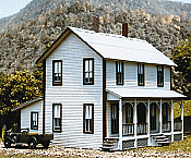 American Model Builders Two-Story Farm House - Kit