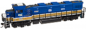 Atlas Trainman Plus 10 001 393 HO NRE Genset II Locomotive DCC Ready - NRE Demonstrator #2020
