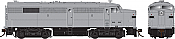 Rapido 22550 HO - DC/DCC/Sound - Alco/MLW FB-2 - Undecorated - Pre-order