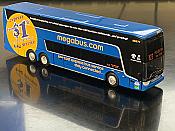 Iconic Replicas 870227- 1:87 Van Hool TDX Megabus