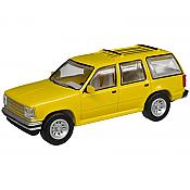 Atlas 60000054 - N Scale 1993 Ford Explorer - Yellow Unlettered (2 pkg)