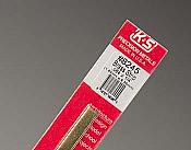 K&S Engineering 8245 All Scale - Brass Strip - 12inch x 1/4inch x .064inch
