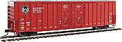 Walthers Mainline 2909 HO - 60ft High Cube Plate F Boxcar - Canadian Pacific #218374