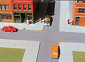 Rix Smalltown USA - 7000 HO City Sidewalks