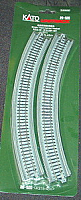 "Kato Unitrack 20-540 N Scale Single Track Viaduct Curved  R381-30V (R 15"" - 30)- 2PCS"