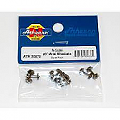 Athearn 90676 - N Scale 36 inch Metal Wheelsets - 8/pkg
