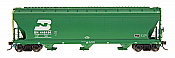 Intermountain 47001-31 HO RTR- ACF 4650 3-Bay Hopper - Burlington Northern #446350