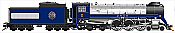 Rapido Trains 600090 HO Scale Canadian Pacific Royal Hudson CPR #2850 H1d -1939 Royal Train - DC Silent  Pre-Order Coming in 2017