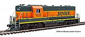 Walthers Mainline 10464 - HO EMD GP9 Phase 2 w/High Hood - Standard DC - BNSF #1633