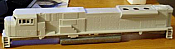 Rail Power Products HO #548 EMD SD90MAC-H Roof & Exhaust Undec Shell