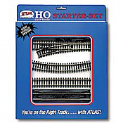 Atlas Model Railroad 88 HO Snap Track Code 100 Starter Set