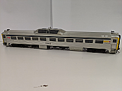Rapido 16655 HO RDC 2 - DC/DCC/Sound- VIA Rail (Blue Stripe)(Phase ll) #6205