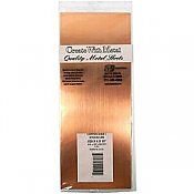 K&S Engineering 259 All Scale - Copper Flat Sheet - 0.025inch x 4inch x 10inch