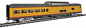 Walthers Proto 18703 - HO 85ft ACF Dome Lounge Coach w/lights - Union Pacific (City of San Francisco) #9009