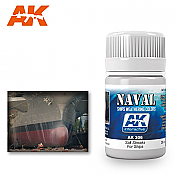 AK Interactive 306 Ship Salt Streaks Enamel Paint 35ml