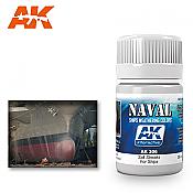 AK Interactive 306 Ship Salt Streaks Enamel Paint 35ml