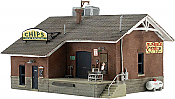 Woodland Scenics 5028 - HO Built-&-Ready Landmark Structures - Chips Ice House