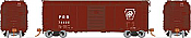 Rapido 123005-F HO Scale - PRR X31A Single-Door Boxcar: Plain Keystone - Single Car #76625