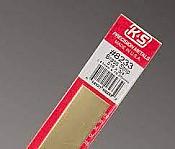 K&S Engineering 8233 All Scale - Brass Strip - 12inch x 3/4inch x .016inch